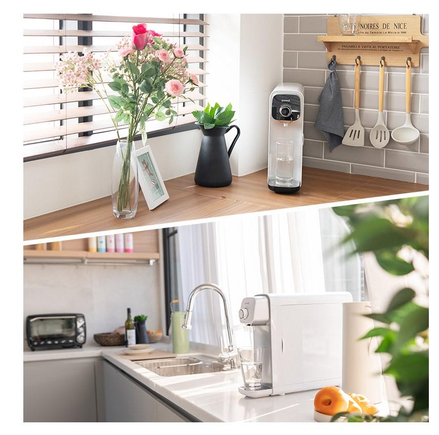 crni i beli pureal filter za vodu